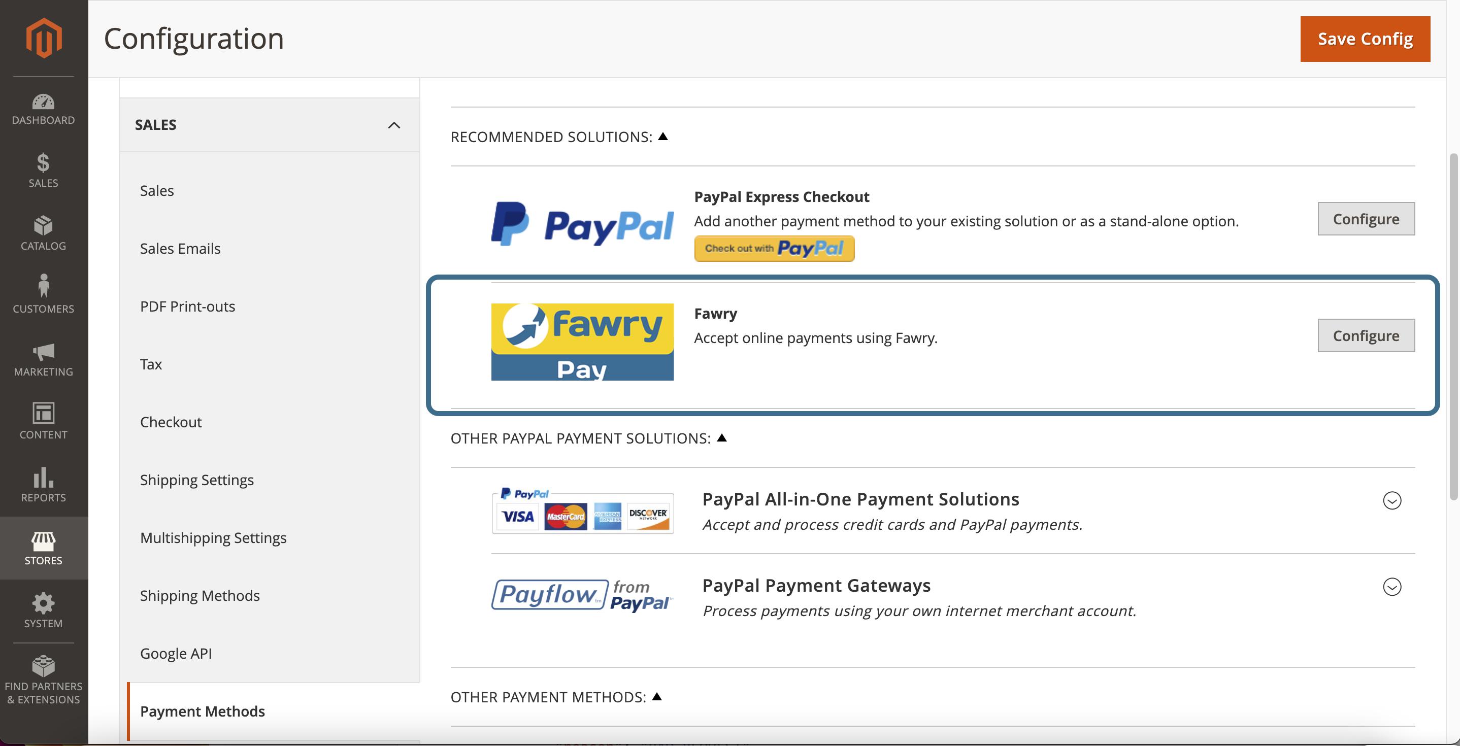 Magento 2 plugin activated feedback message screenshot